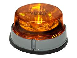 LED advarselsblink PRO-POWER-FLASH 12V/24V. Til planmontering. E-godkendt. Proplast 40551001.