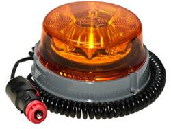 LED advarselsblink PRO-POWER-FLASH 12V/24V. Vacuum/magnet fastgørelse. ECER10/ECE R65E. Proplast 40551301.