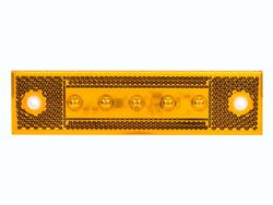 LED sidemarkering PRO-SUPER-FLAT 12/24V, fladkabel