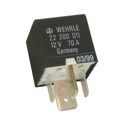 Wehrle relæ 12V 70A. High Performance Relay N.O. 12V. Wehrle 22200011.