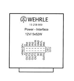 Trailer control module - Wehrle 13258000. Reference: 082-1012-5003-1, 50-33300000, TRM 082-1012-5003, TRM 082-1012-5003-1; Volvo: 13258000