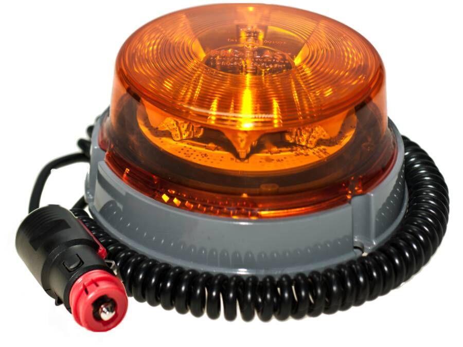 LED advarselsblink PRO-POWER-FLASH 12V/24V magnet