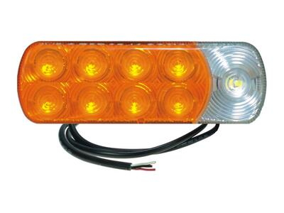 LED Blink/positionslygte 12/24V | Proplast 164 x 56 mm. Proplast nr. 40287911.