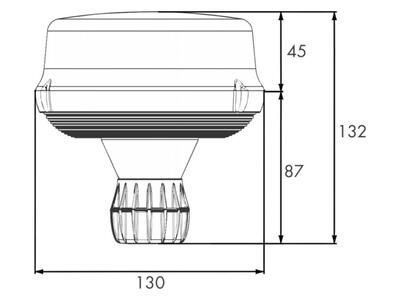 LED advarselsblink PRO-ROTA-FLASH 12V/24V flex