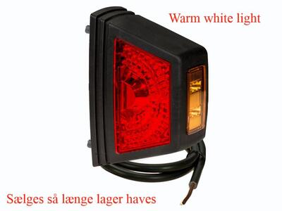 LED slingrelygte PRO-SUPER-JET warm white light