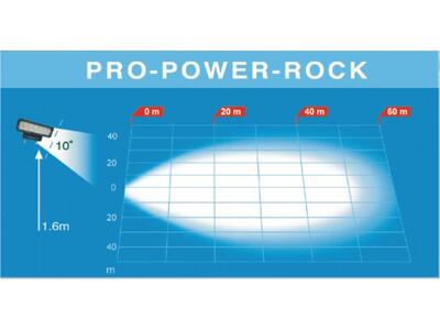 LED arbejdslygte PRO-POWER-ROCK 12-36V 4500Lm